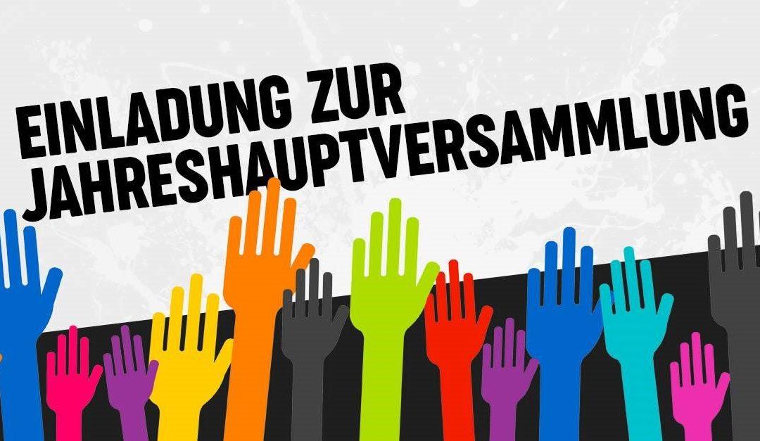 Jahreshauptversammlung am 28.02.2020