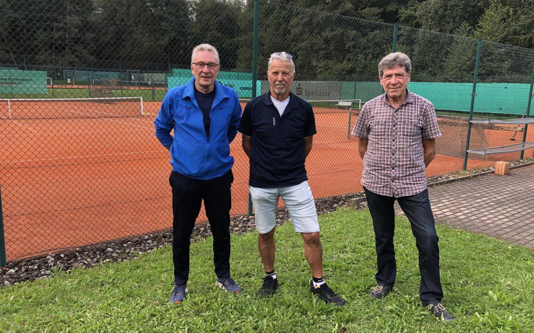 Sieger Vereinsmeisterschaft Herren 65